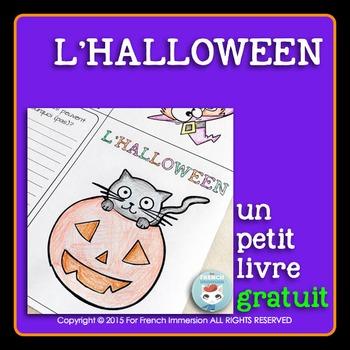 French Halloween Mini-Book   L'Halloween