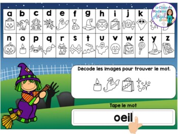 L'Halloween:  Halloween Themed Digital Task Cards in French BUNDLE - BOOM CARDS