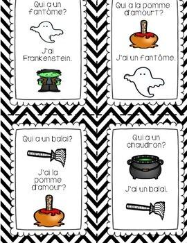L'Halloween - J'ai...Qui a?