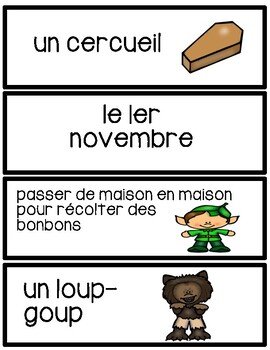 L'Halloween - Flashcards