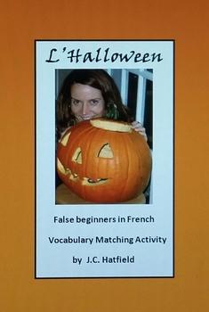 French L'Halloween (Vocabulaire et images)