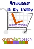 L In My Trolley Articulation Game - 'L' initial, medial, final & blends
