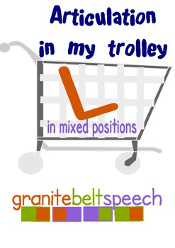 L In My Trolley Articulation Game - 'L' initial, medial, f