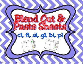 L Initial Blends Pack ~ fl, pl, sl, cl, bl, gl