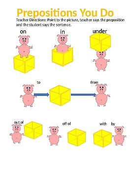 CC.L.K.1.E Kindergarten Prepositions