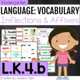 L.K.4.b - Inflectional Endings and Affixes (Prefix and Suf
