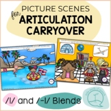 L & L Blends - Picture Scenes for Targeting Speech Sounds