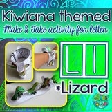 L = LIZARD {Kiwiana Themed 'Make & Take' Alphabet Set}