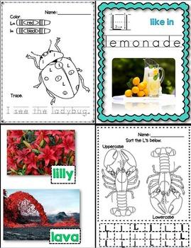 L Like In Lemur (Letter L Unit Using Real Photos!)