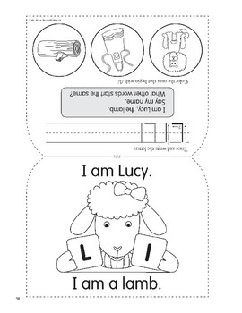 L: Lucy, the Lamb