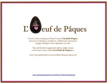 L'Oeuf de Pâques (Crespi): A crazy, mixed-up review activity