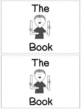 Sight Word Reader Books (L-P Bundled)
