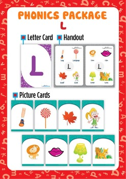 'L' Phonics Resource Package