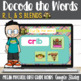 L, R, & S Blends Turtle out the Words using Google Slides