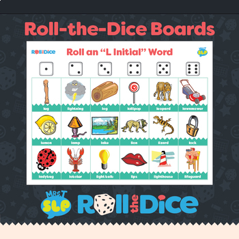 """L"" Sound Roll A Dice Games-FREE!"
