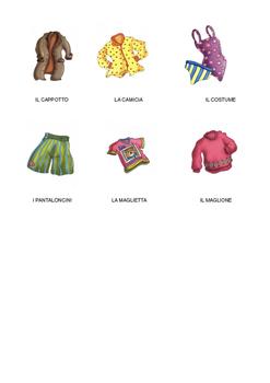 L'abbigliamento
