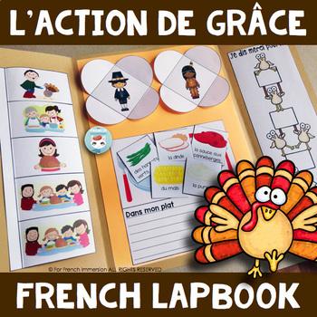 L'Action de Grâce - French Thanksgiving Lapbook