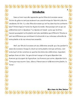 L'action de grâce à travers le monde/ Thanksgiving around the world