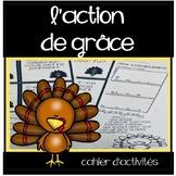 Action de grâce - Cahier d'activités