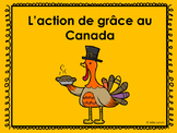 L'action de grâces Canadienne PowerPoint/Canadian Thanksgiving PowerPoint