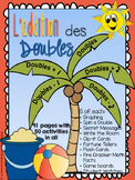 L'addition des doubles - Doubles Basic Fact Fluency Package in French - Bundle