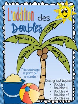 L'addition des doubles - des graphiques des doubles, doubles +1, -1, +2, -2