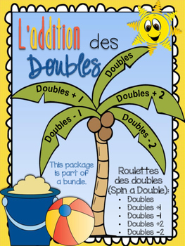 L'addition des doubles - des roulettes (Spin a Double, Double +1, -1, +2, -2)