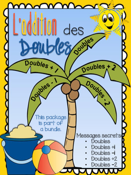 L'addition des doubles - messages secrets des doubles, doubles +1, -1, +2, -2
