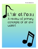 L'air et L'eau-French Song to review Air and Water