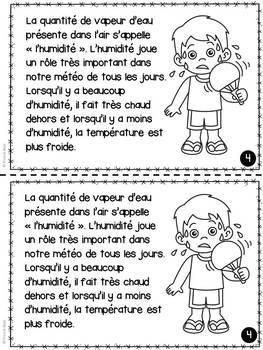 L'air et l'eau - Livrets de lecture informatifs - French Air and Water Bundle