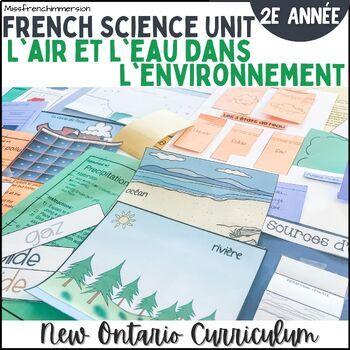 Sciences - L'air et l'eau dans l'environnement