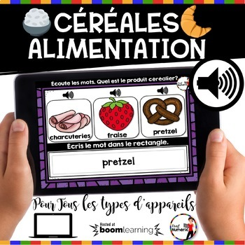 L'alimentation BOOM Cards : Les Céréales (french food groups)