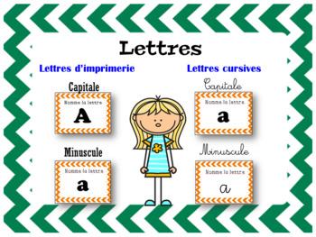 L'alphabet - 1000+ Cartes à tâches (French Phonics, Reading Task Cards)