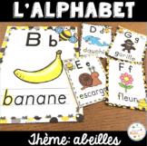 L'alphabet - Affiches - French Alphabet Posters - Thème: abeilles