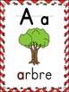 L'alphabet - Affiches - French Alphabet Posters - Thème: chevron