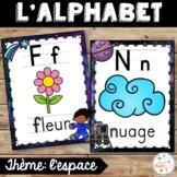 L'alphabet - Affiches - French Alphabet Posters - Thème: espace