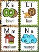 L'alphabet - Affiches - French Alphabet Posters - Thème: j