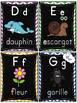 L'alphabet - Affiches - French Alphabet Posters - Thème: noir et chevron