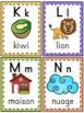 L'alphabet - Affiches - French Alphabet Posters - Thème: q