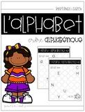 L'alphabet : L'ordre alphabétique