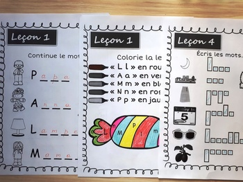 L'alphabet - Lecture et Écriture (French Phonics,Writing,Reading Activity book)