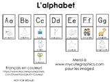 L'alphabet -  Mur des mots