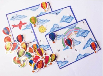 L'alphabet en ballon / Balloon alphabet