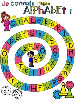 L'alphabet - jeux de société - French Alphabet Games