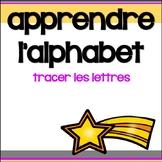 Alphabet - Tracer les lettres