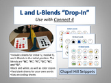 "L and L-Blends ""Drop-In"" Articulation Game (Use with Connect 4)"