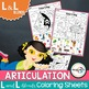 L and L blends Articulation Pack: Activities for Speech Therapy