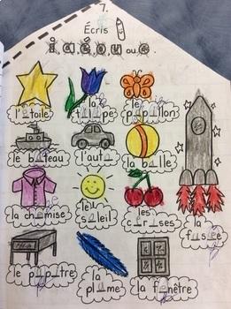 """L'appartement de René, le petit cheval- FRENCH- Phonics: le son """"e""""- Grade 1"""