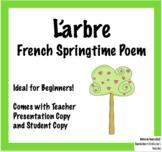 L'arbre - poème pour le printemps | French Springtime Poem