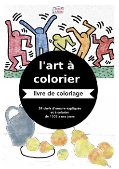 L'art à colorier (color the art)